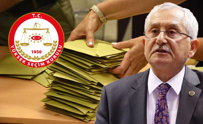 YSK, Kesin Olmayan Seçim Sonuçlarını Açıkladı