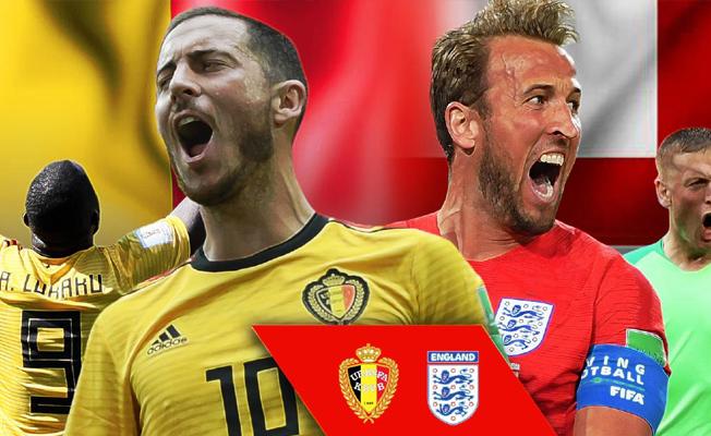 İngiltere'nin Belçika'ya karşı büyük üstünlüğü bulunuyor