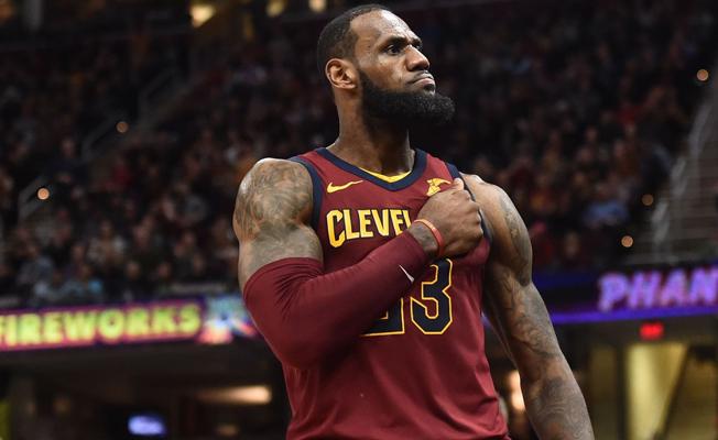 LeBron James, 154 milyon dolara Lakers'la 4 yıllık anlaştı