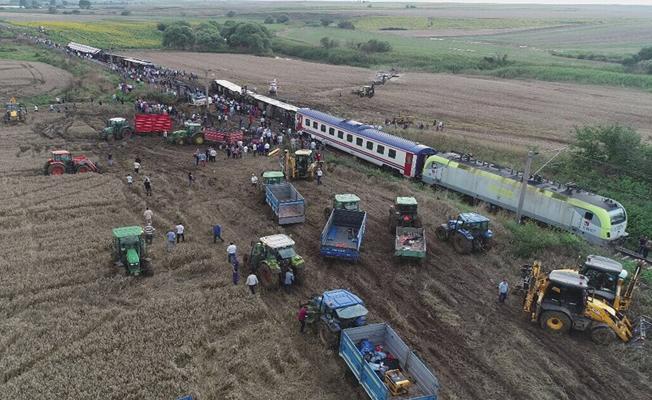 Tren kazasında hayatını kaybedenlerin isimleri belli oldu