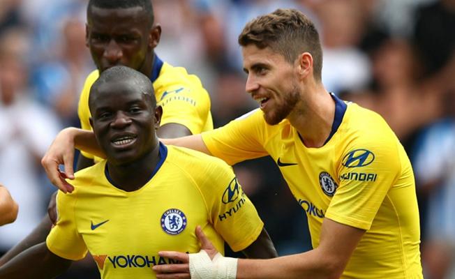 Chelsea, Maurizio Sarri ile lige iyi başladı