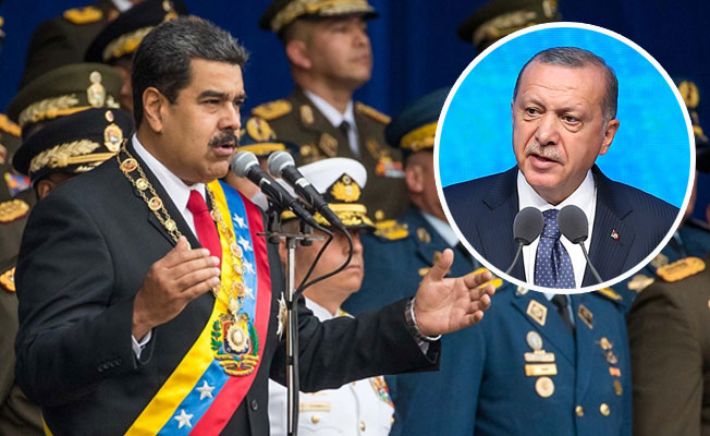 Erdoğan'dan Maduro'ya 'Geçmiş Olsun' Telefonu