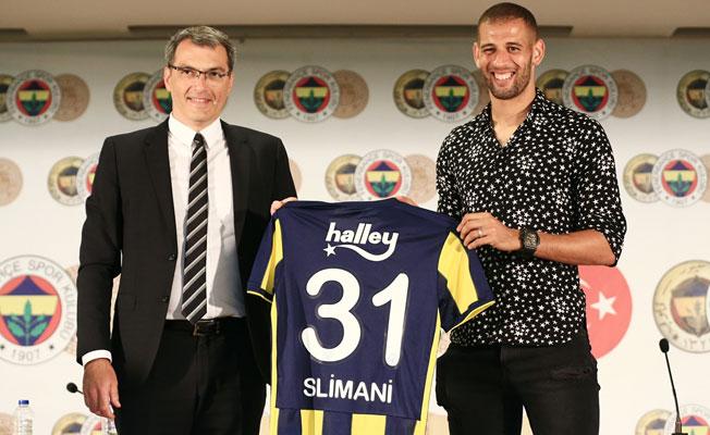 Slimani Fenerbahçe için imzayı attı