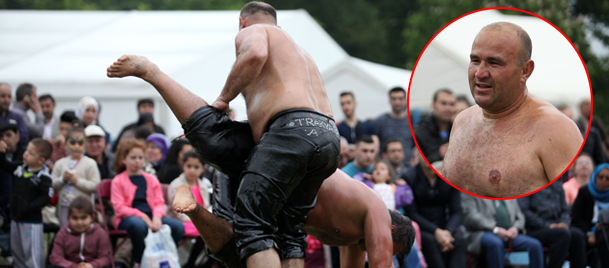 Londra Yağlı Güreşleri birincisi Ahmet Yavuz oldu