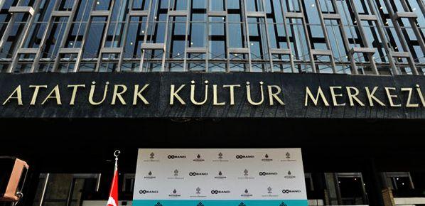 Atatürk Kültür Merkezi'nde yangın