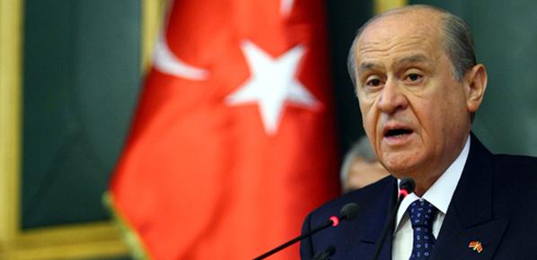 Bahçeli, Ergenekon yargıçlarını hedef aldı