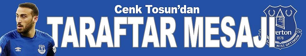 Cenk Tosun, Everton taraftarı için konuştu
