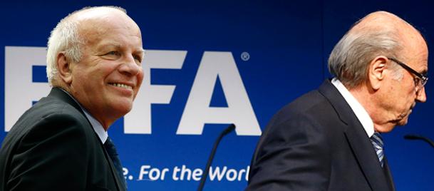 Blatter'in gidişi en çok İngiltere'yi sevindirdi!