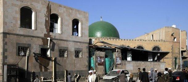 Camiye bombalı saldırı: 32 ölü