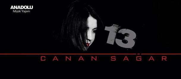 Canan Sağar'ın ilk solo albumü '13' çıktı