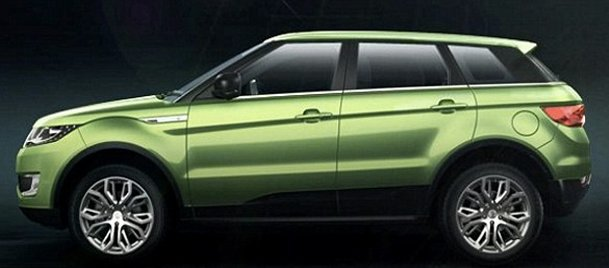 Çinliler Range Roverı kopyaladı