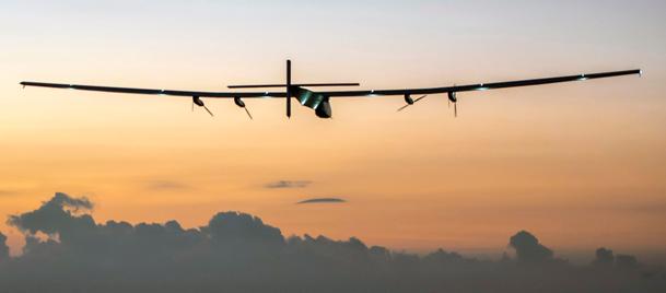 Güneş enerjisi ile çalışan uçağın rekor uçuşu!