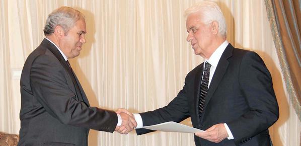 Hükümeti kurma görevi CTP Genel Başkanı Yorgancıoğlu'nda