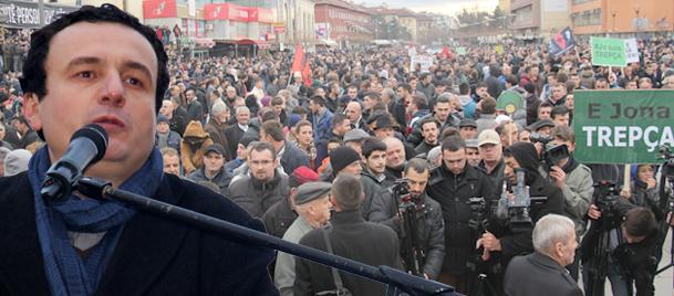 Kosovada muhalefeti sokağa döken suçlama!