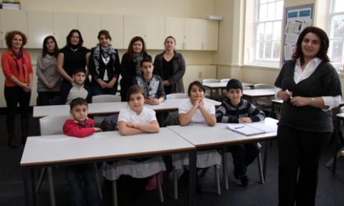 Azerbaycan Okulu eğitim yılına başladı