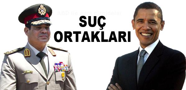 Mısır'daki katliama Obama da ortak