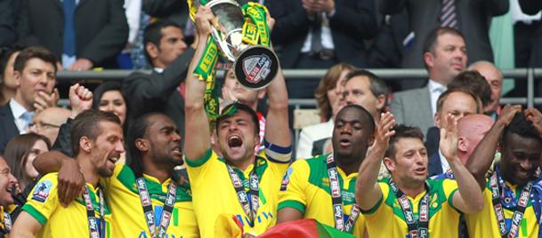 Premier Lig'e yükselen son takım Norwich...