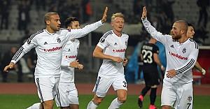 Beşiktaş grup liderliğine yükseldi