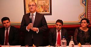 Büyükelçi Bilgiç, Avrupalı Türk Markalar Birliği'nde konuştu