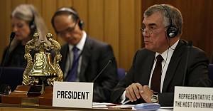 Çeviköz, IMO dönem başkanlığını devretti