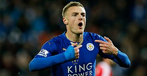 Leicester Cityli Vardy rekor kırdı
