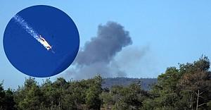 Suriye sınırında Rusya uçağı düşürüldü