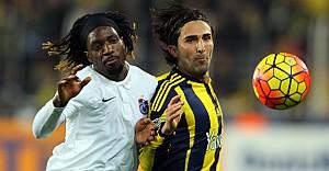 Trabzonspor'u 2-0 yenen Fenerbahçe lider
