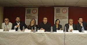 CHP ve HDP'li vekiller Cemevi'nde 'Birlik çağrısı' yaptı