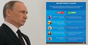 Putin, 'Pravda silahını' da kullanıyor