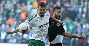 Bursaspor Ziraat Türkiye Kupası'na veda etti
