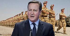 Cameron Irak'a giden askerine sahip çıktı