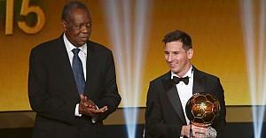 Altın Top Ödülü 5. kez Lionel Messi'nin