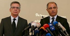Türk ve Alman Bakan'dan teröre ortak tavır