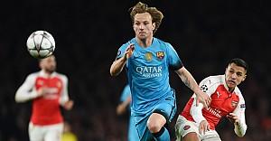 Arsenal'i 2-0 yenen Barcelona avantajlı