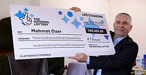 İngiliz Lottery Mehmet Özer'e vurdu