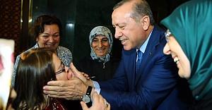 Erdoğan Külliye'de Kadınları Misafir Etti