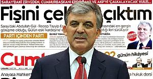 Gül'den o haber için twitter'den açıklama