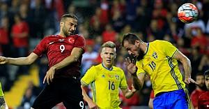 Hazırlık maçında Türkiye: 2 - İsveç: 1
