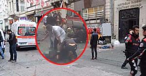 İstanbul'da İstiklal Caddesi'nde canlı bomba