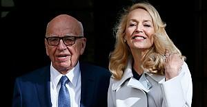 Medya İmparatoru Rupert Murdoch evlendi
