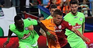 Galatasaray, Rize'den istediğini aldı: 3-1