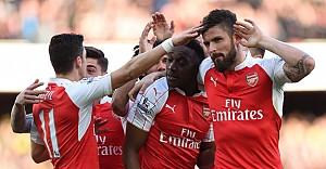 Arsenal ve West Ham galibiyetle kapadı