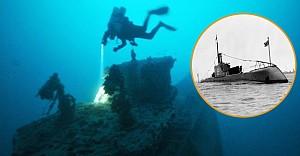 Batık denizaltı askeriyle 73 yıl sonra bulundu