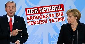 bDer Spiegel: Erdoğanın Bir Tekmesi.../b