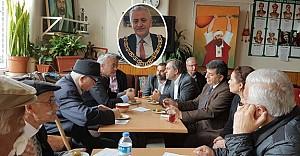 Elbistanlı Başkanın İlk Ziyareti Cemevi'ne