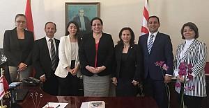 Konsey yeni yönetiminden Tuncalı'ya ziyaret