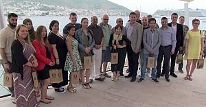 Türk ve İngiliz seyahat acentaları Bodrum'da