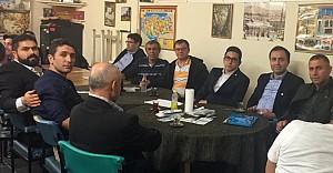 UETD Başkanı Özen, İhlaralıları ziyaret etti