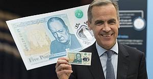 İngiltere'den ilk 'polimer' banknot çıkıyor