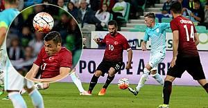 Millilerimiz Slovenya'da 1-0 galip